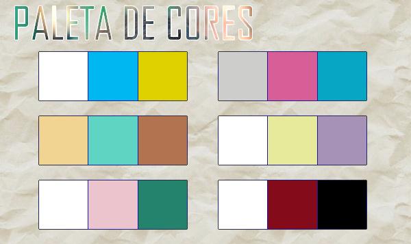 Paleta de cores para quartos  fashioncuteblog